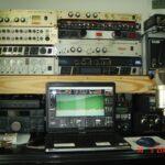 Рабочие места радиолюбителей.