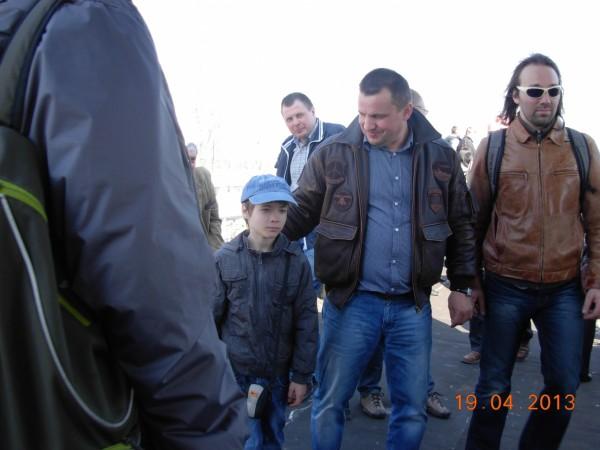 Ком Младший с пилотами
