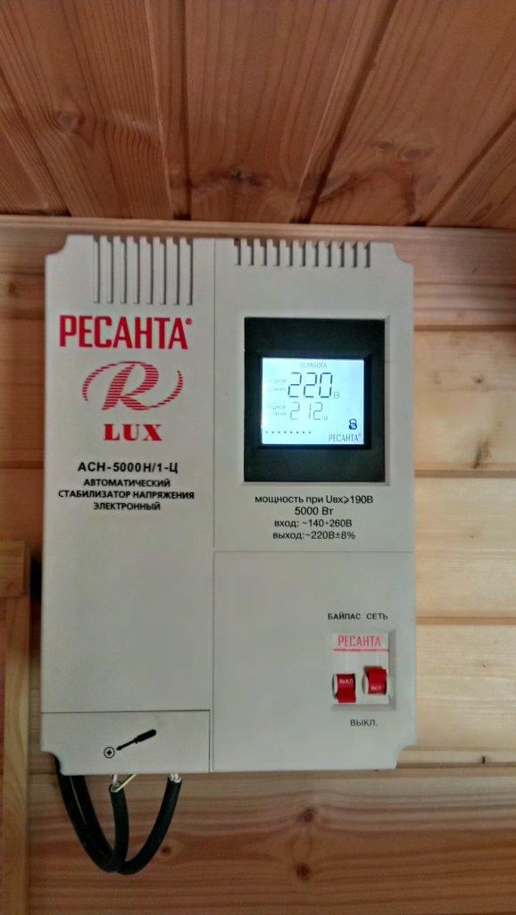 Стабилизатор Ресанта ACH-5000Н/1-Ц