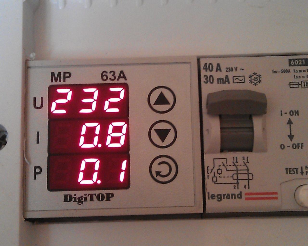Kuvag индикатор напряжения схема