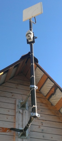3G антенна на сарае