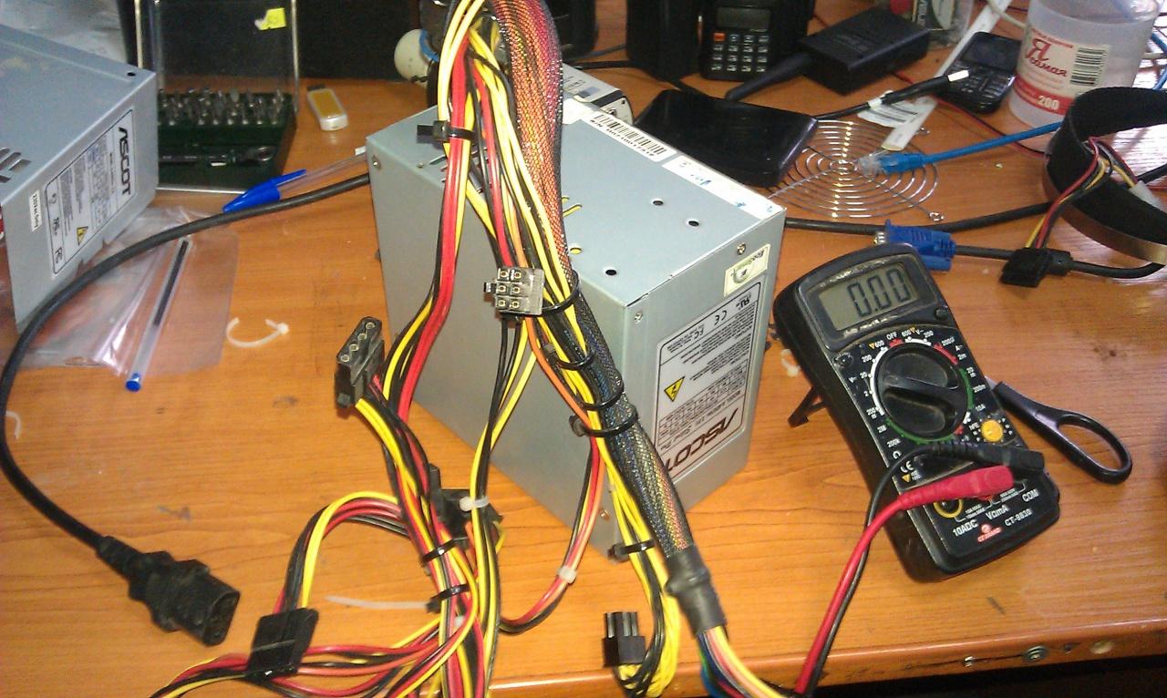 Блок питания 12в из компьютерного бп