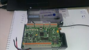 Начинка GSM контроллера CCU825.