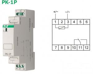 Реле с индикацией PK-1P