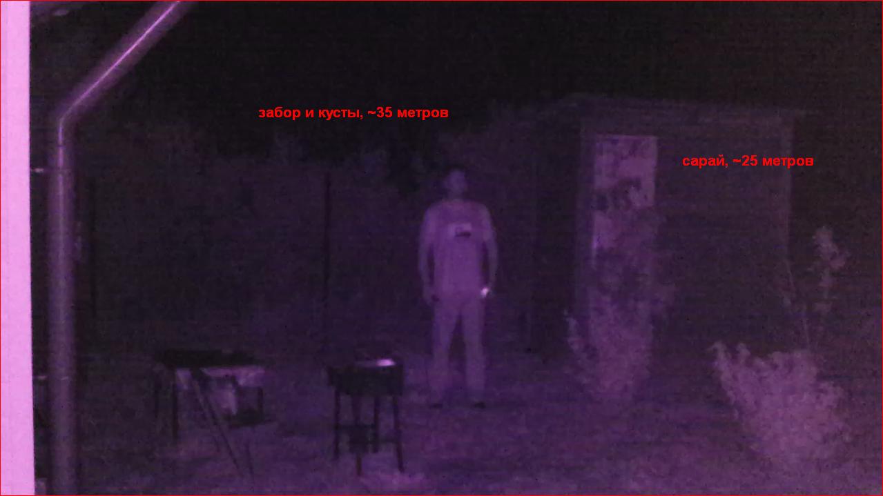 схема подключения камеры видеонаблюдения с подсветкой