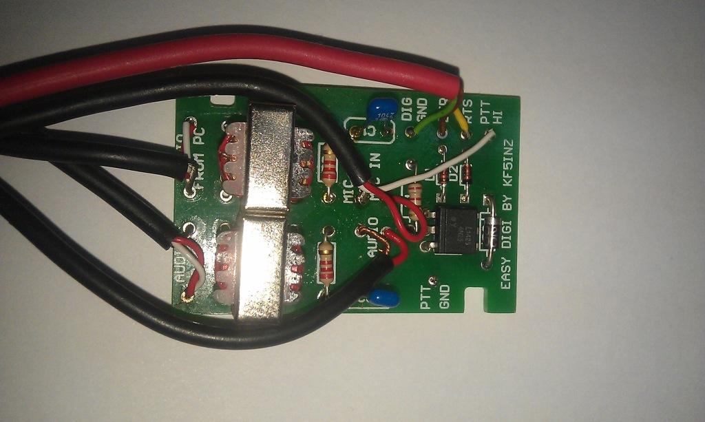 WPRS. Модуль сопряжения радиостанции с компьютером
