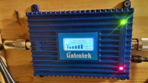 Lintratek стандарта EGSM 900 усиление ≈70 dB