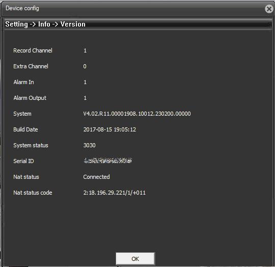Новая версия прошивки OKAYVISION OK-HD200M64X-355