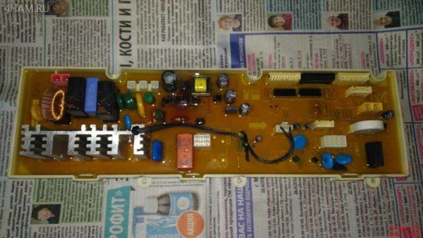 Блок питания DC41-00060A от Samsung WF722S8R