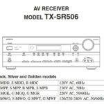 Ремонтируем AV-ресивер ONKYO TX-SR506