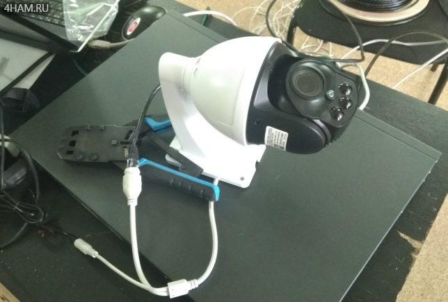 Подготавливаем к тесту камеру Besder NRM4X-20A4