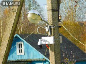 Камера на столбе