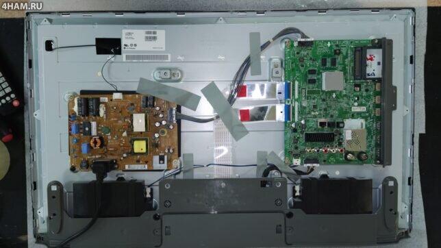 Внутренности телевизора LG 32LB650650V